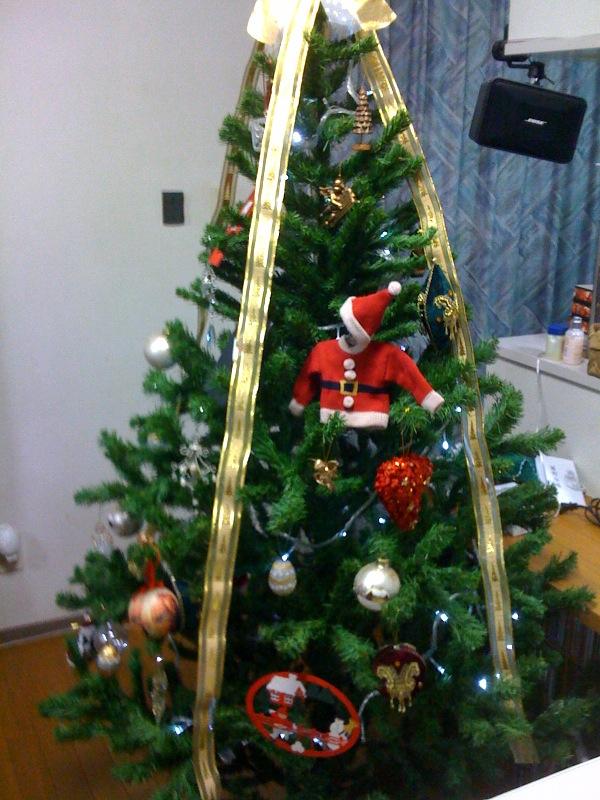 実家でクリスマス