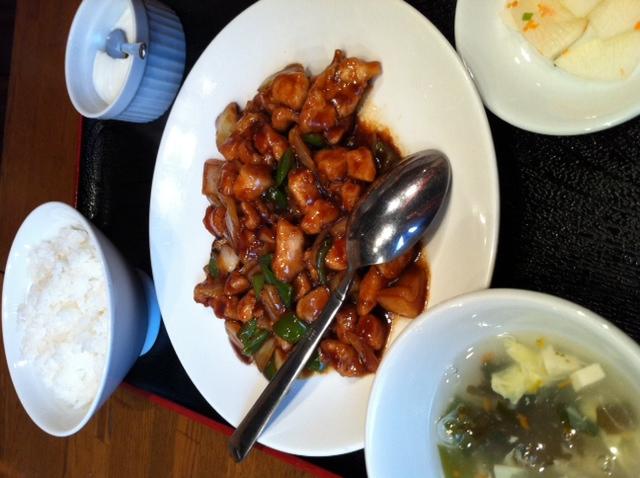 鶏の中国味噌炒め 招福