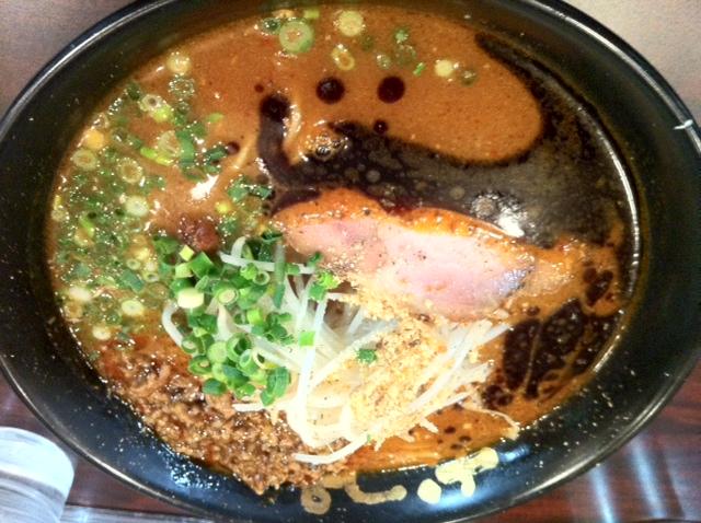 なんつっ亭 辛味噌麺