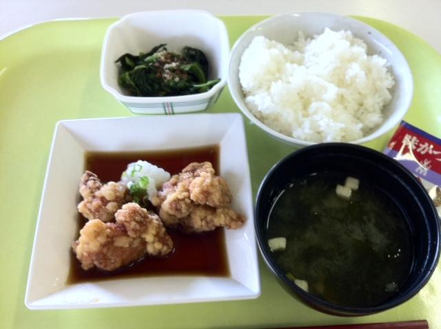 これで200円 おろし唐揚げ定食