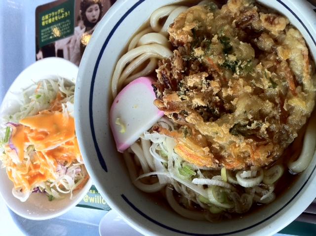 サラダは¥50 学食ランチ